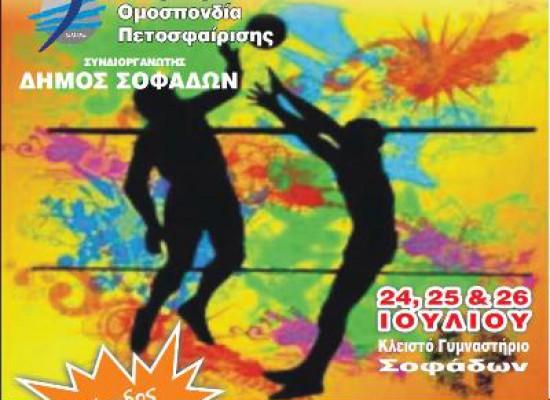Δελτίο τύπου: «Διεθνείς Φιλικοί Αγώνες Volley 2012»