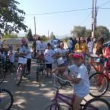 Ποδηλατοβόλτα πραγματοποιήθηκε στο Μελισσοχώρι στις 31-8-2014