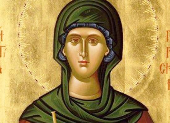 Εορτασμός της Πολιούχου Αγίας Παρασκευής στους Σοφάδες
