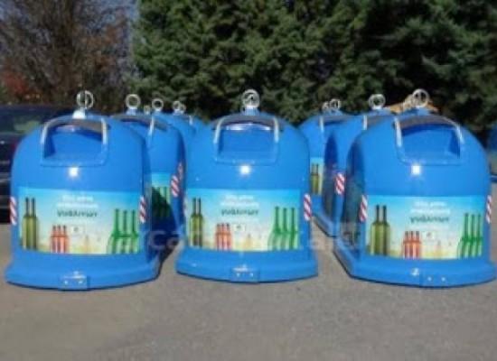Τοποθέτηση κάδων ανακύκλωσης γυαλιού σε κεντρικά σημεία της έδρας και τοπικών κοινοτήτων