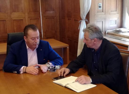 Συνάντηση Θάνου Σκάρλου με τον Υφυπουργό Αγροτικής Ανάπτυξης για θέματα πρωτογενή τομέα του Δήμου Σοφάδων