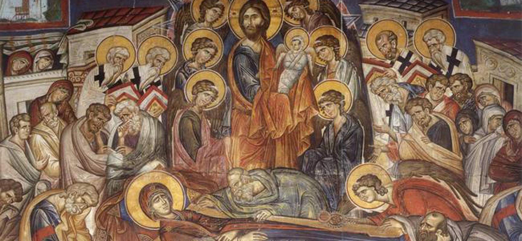 Ο Ι. Ν. Ζωοδόχου Πηγής Ερμητσίου πανηγυρίζει την Κοίμηση της Θεοτόκου