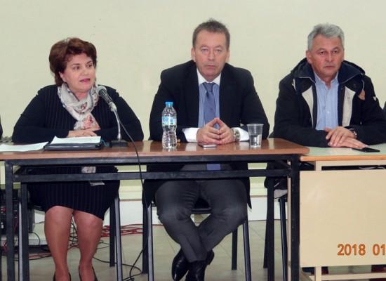Στο Δήμο Σοφάδων ο Υφυπουργός Αγροτικής Ανάπτυξης κ. Βασίλης Κόκκαλης