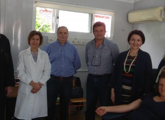 Εθελοντική αιμοδοσία στην τ.κ. Καρποχωρίου