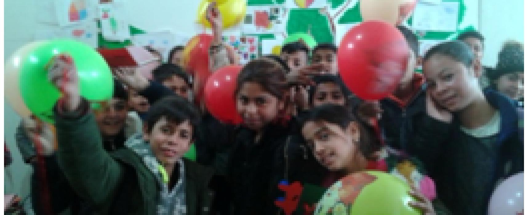 Με αγάπη γέμισαν το Παράρτημα Ρομά μαθητές του 4ου Δημοτικού σχολείου Σοφάδων
