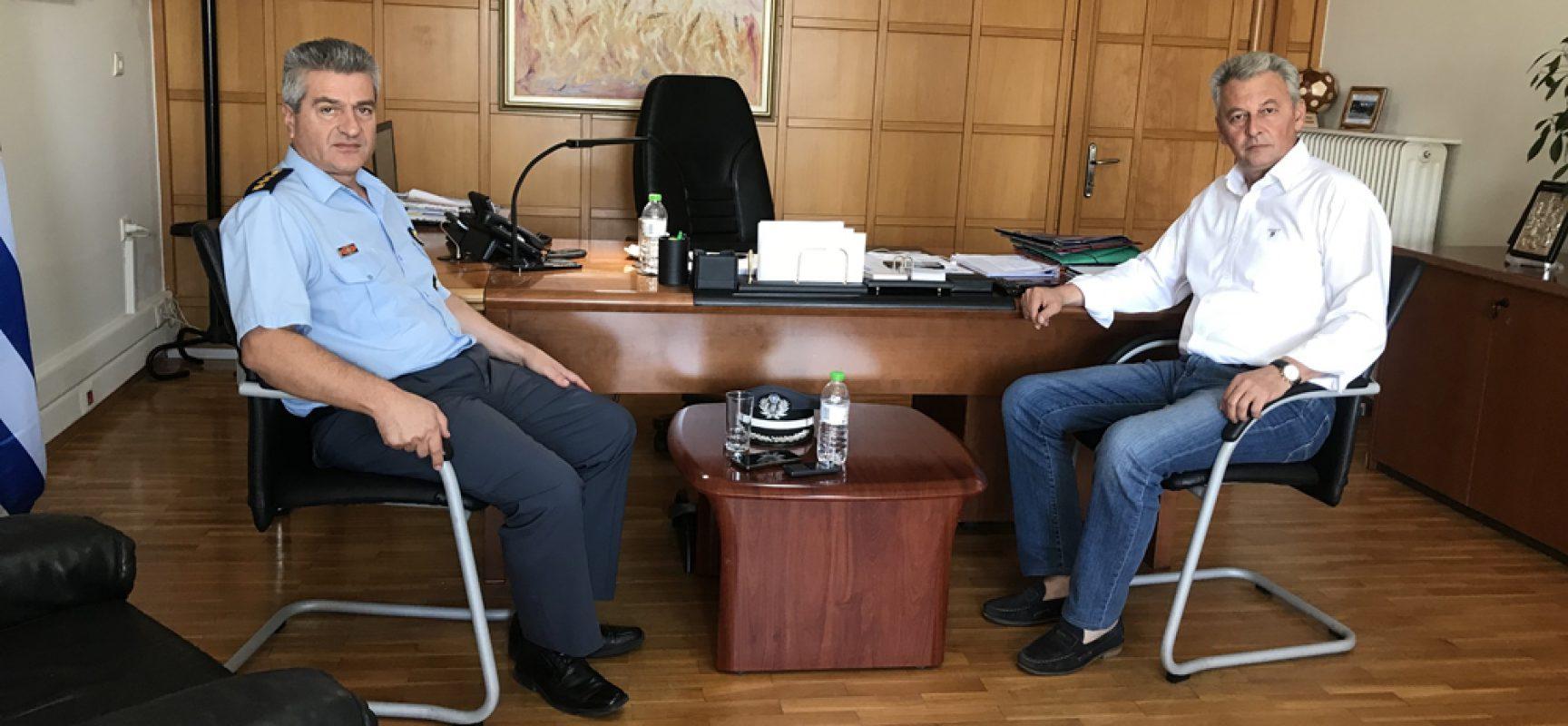 Συνάντηση Δημάρχου Σοφάδων με τον νέο Αστυνομικό Διευθυντή Καρδίτσας