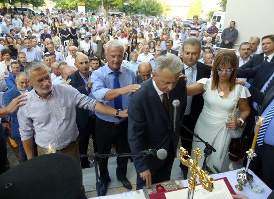 Ορκίστηκε η νέα Δημοτική Αρχή και οι αιρετοί του Δήμου Σοφάδων