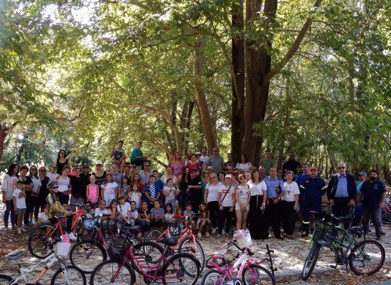 Ποδηλατοβόλτα πραγματοποιήθηκε την Κυριακή 15 Σεπτεμβρίου στον Δήμο Σοφάδων
