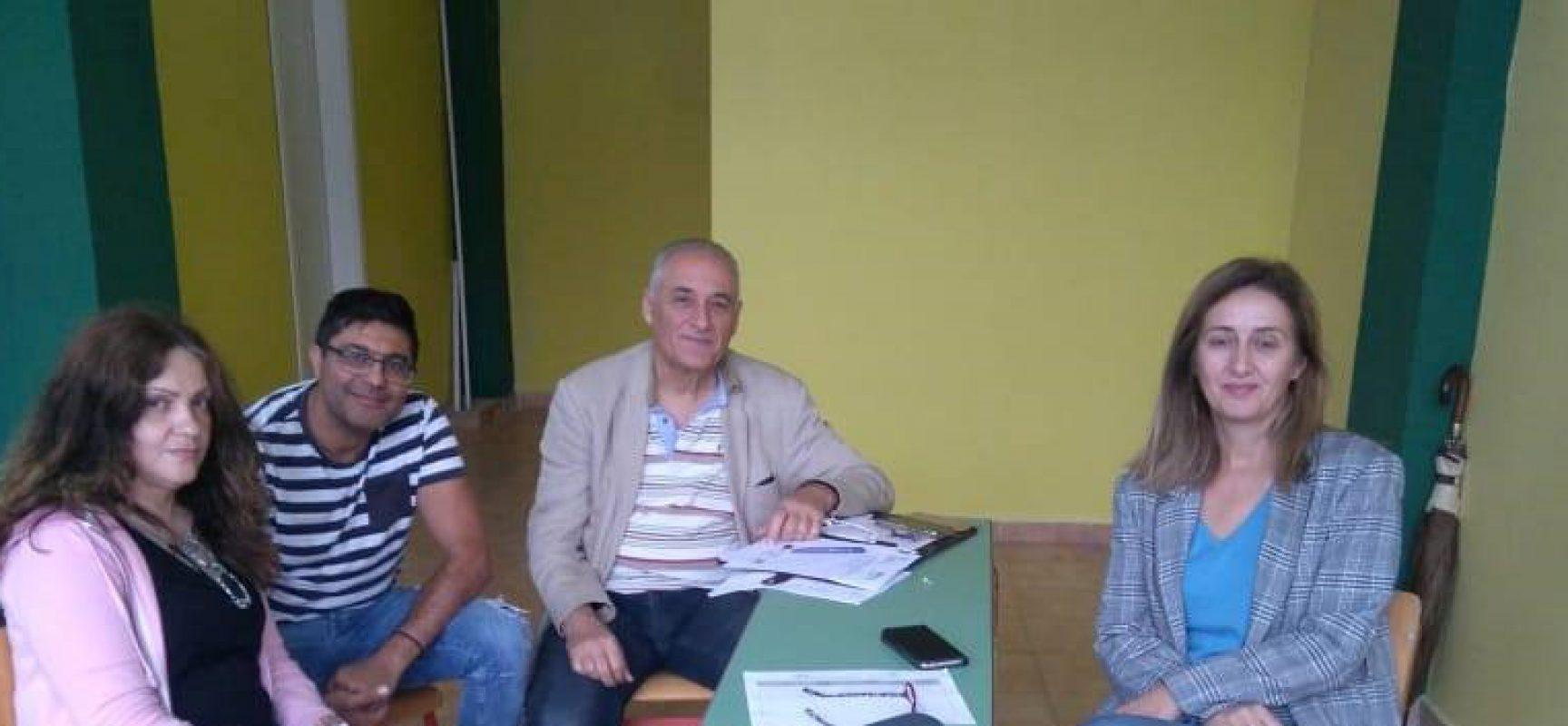 Συνάντηση εργασίας του Παραρτήματος Ρομά με τον  Διευθυντή της ΑΚΝΑ  Μπέλλη Βασίλειο