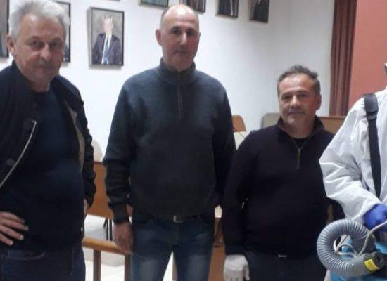 Απολύμανση δημοτικών κτιρίων και χώρων συνάθροισης κοινού στον Δήμο Σοφάδων