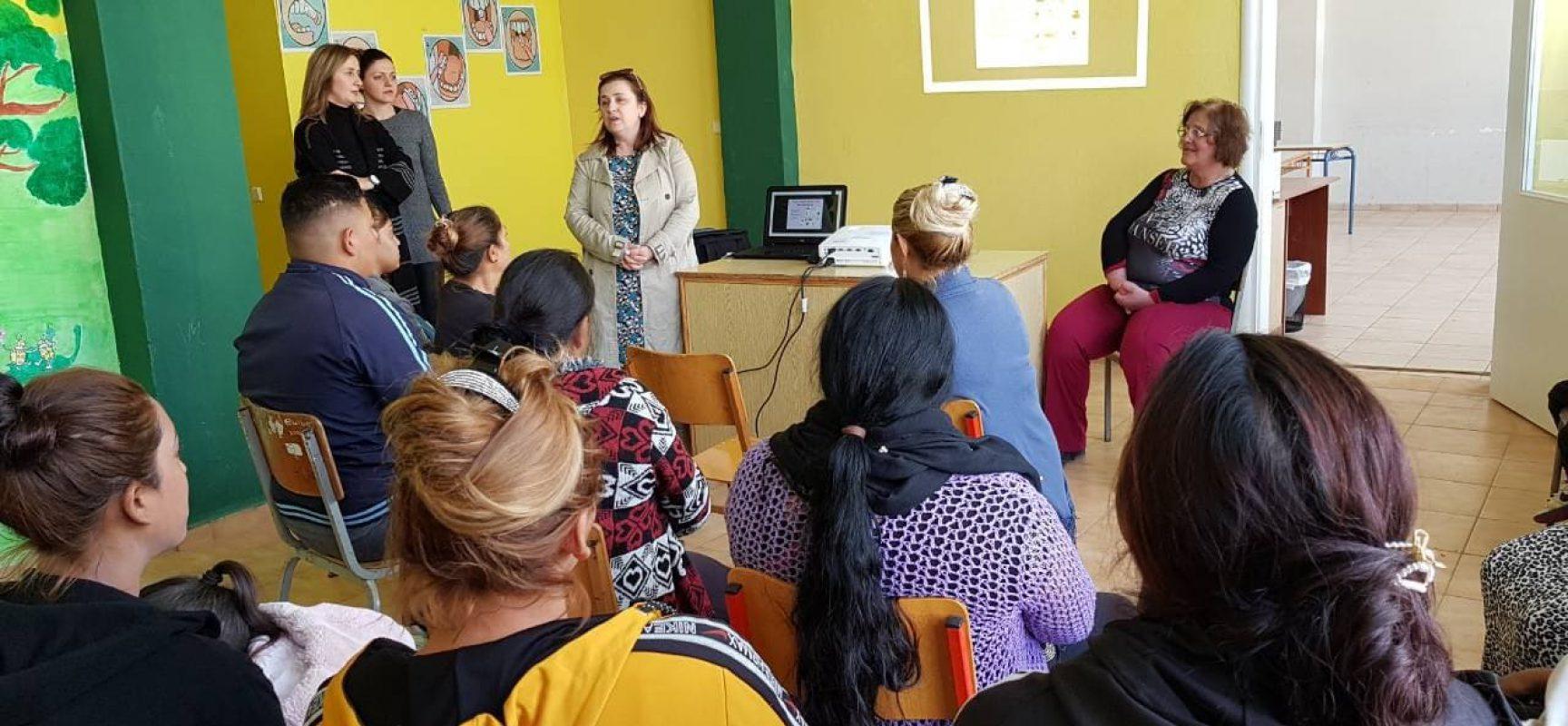 Ενημέρωση για τη Στοματική Υγιεινή  στο Παράρτημα Ρομά του Κέντρου Κοινότητας του Δήμου Σοφάδων
