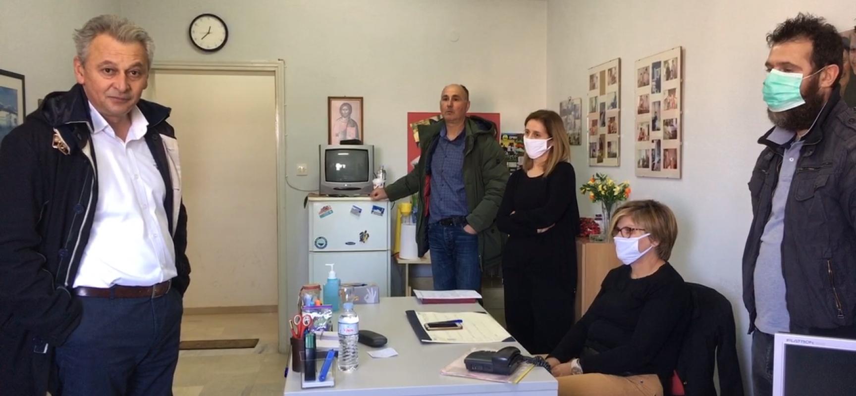 Συνάντηση Δημάρχου Σοφάδων με εργαζομένους του Βοήθεια στο Σπίτι