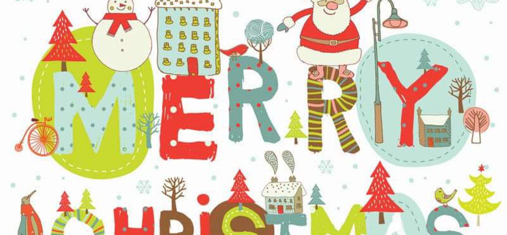 Στολισμός του Δημαρχείου με Χριστουγεννιάτικες Παιδικές Ζωγραφιές
